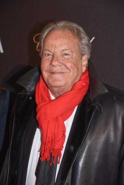 EL Massimo Gargia, avec sa belle écharpe rouge, a aussi fait l'honneur de venir voir Dalida