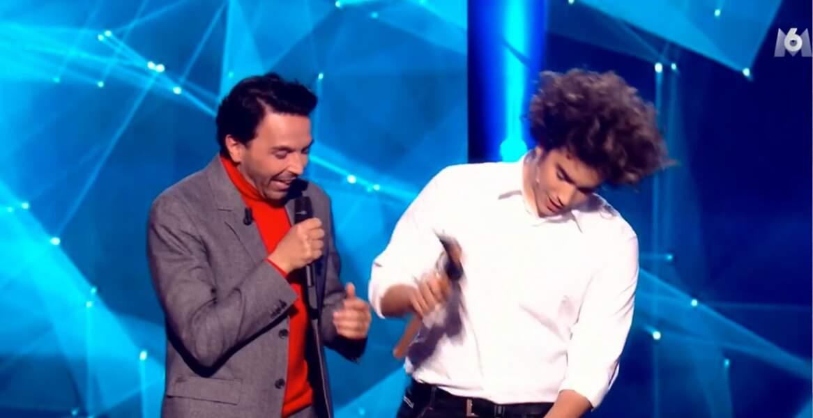 Eric Antoine était heureux de voir Moulla, le seul magicien à aller en finale