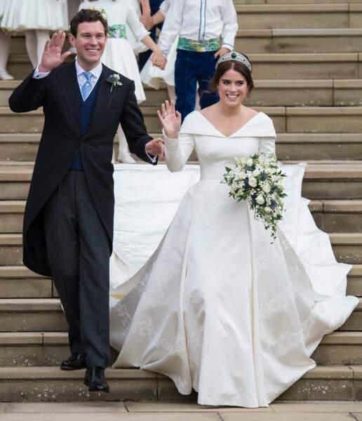 Le second mariage royal de l'année a lieu le 12 octobre : Eugenie d'York et Jack Brooksbank