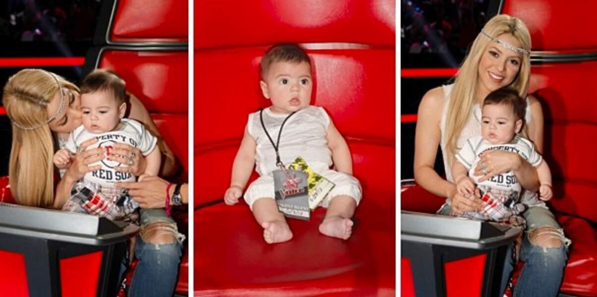 Re-trop chou ! Shakira et son joli bébé