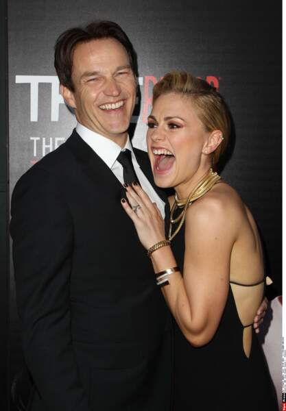 True Blood : Stephen Moyer et Anna Paquin, l'amour à pleines dents