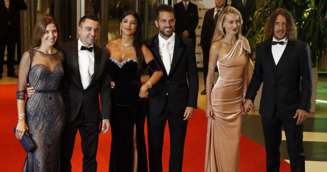 Une foule de stars du foot, comme Xavi et Carles Puyol, ont assisté à la noce
