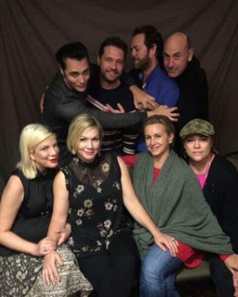 Sympa de constater que les comédiens sont toujours à l'unisson, seize ans après l'arrêt de la série