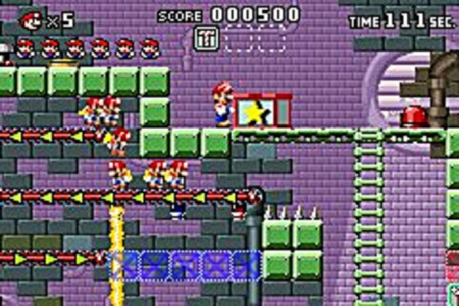 Mario vs Donkey Kong - Game Boy Advance (2004)