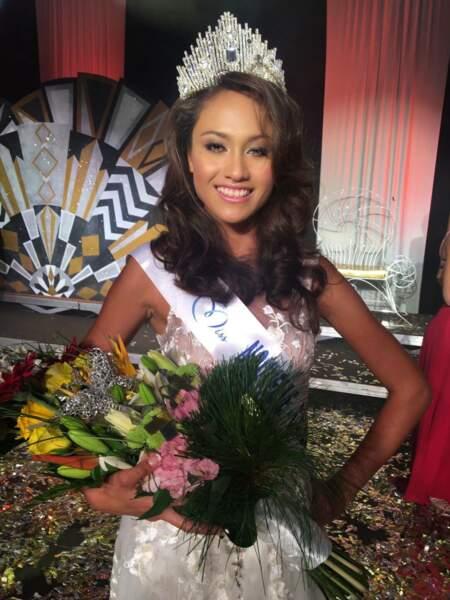 Levina Napoleon (18 ans) a été élue Miss Nouvelle-Calédonie