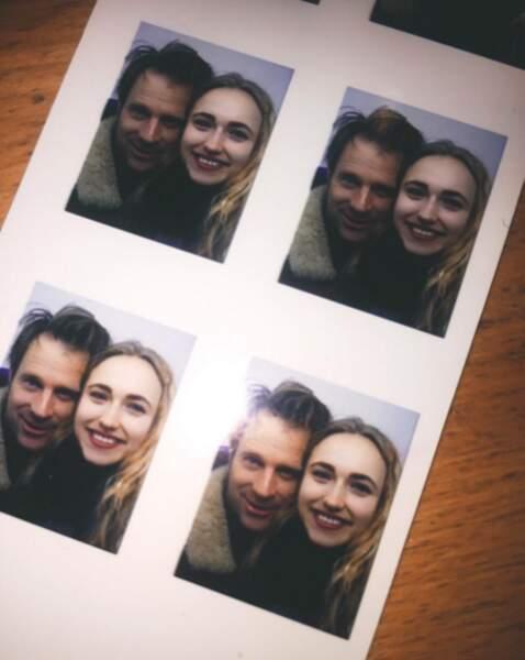 La jeune femme est aussi la fille de l'acteur Thomas Jouannet