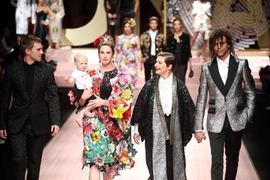 Elettra, Isabella et Roberto : la famille Rossellini est bien représentée !
