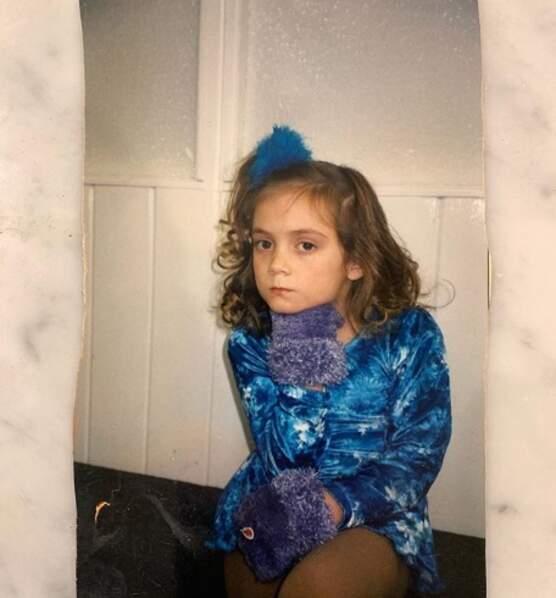 Non mais la mignonitude de Billie Lourd quand elle était enfant.