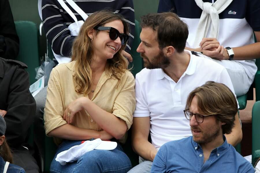 … l'acteur Antoine Gouy et sa chérie