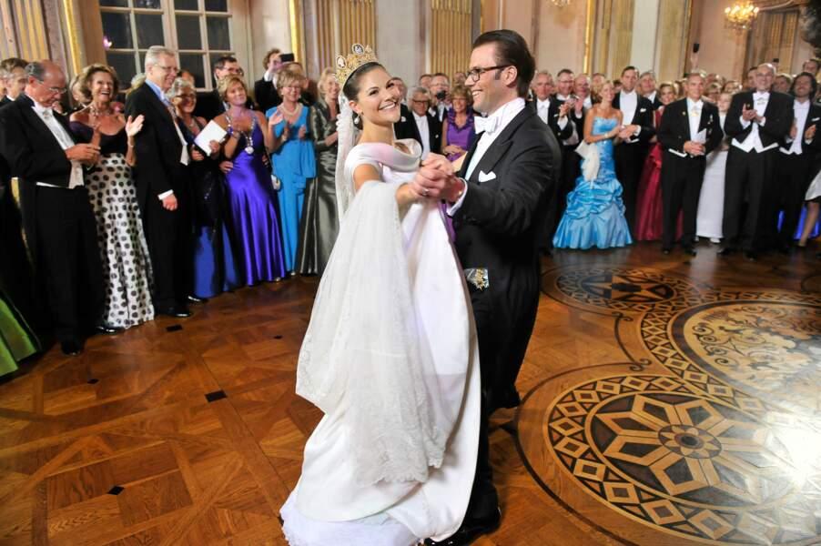 Mariage royal à Stockholm pour la princesse héritière Victoria de Suède (2010)