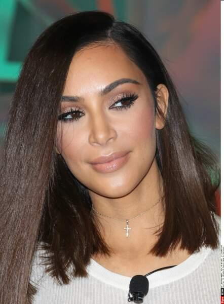 Kim Kardashian maquillée...