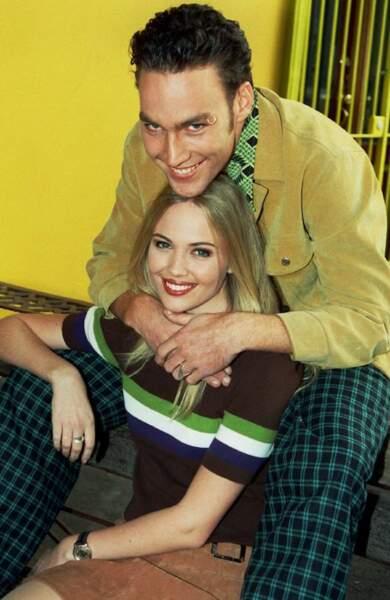 Callan Mulvey, alias Drazic, et Lara Cox, alias Anita