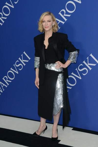 On termine avec l'élégante Cate Blanchett