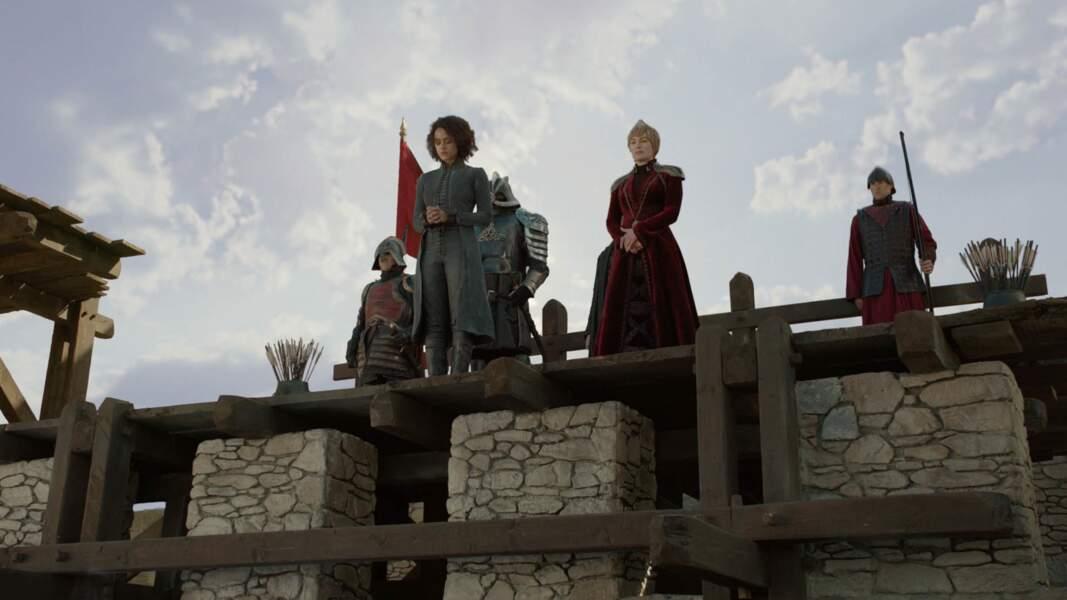 Héroïque, Missandei se montre digne jusqu'à la fin, exécutée par Cersei