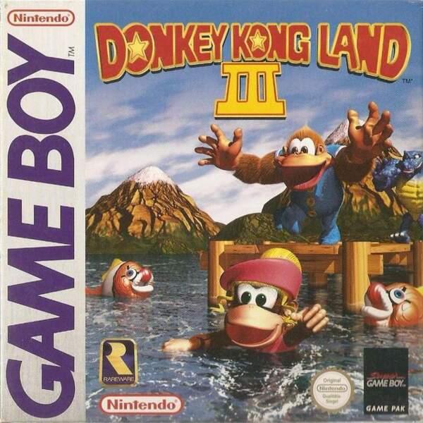 Donkey Kong Land 3 - Game Boy (1997)