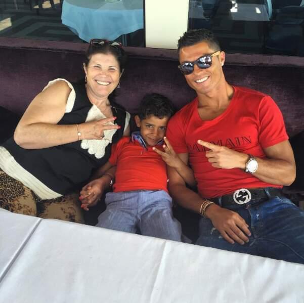 ... mais pour Cristiano, c'est la famille d'abord