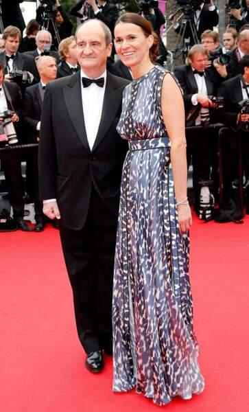 Aurélie Filippetti, la ministre de la Culture et Pierre Lescure, le président du Festival de Cannes.