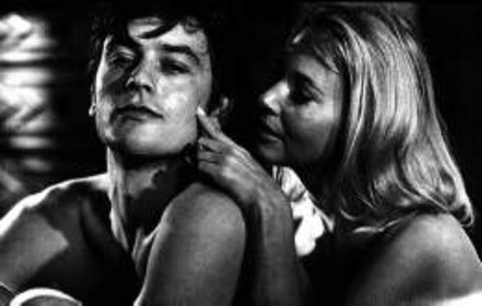 Encore un couple culte au cinéma : Alain Delon et Jane Fonda dans Les Félins (1964)
