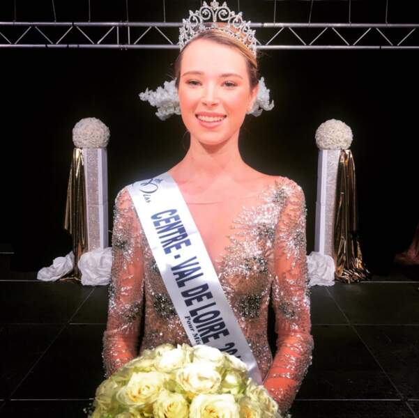 Marie Thorin (20 ans) élue Miss Centre Val de Loire