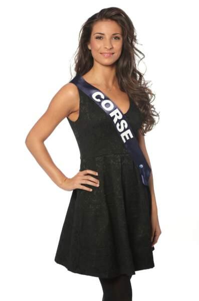 Cécilia Napoli, Miss Corse 2013