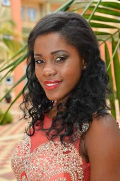 Voici Linne Freminot, représentante des Seychelles
