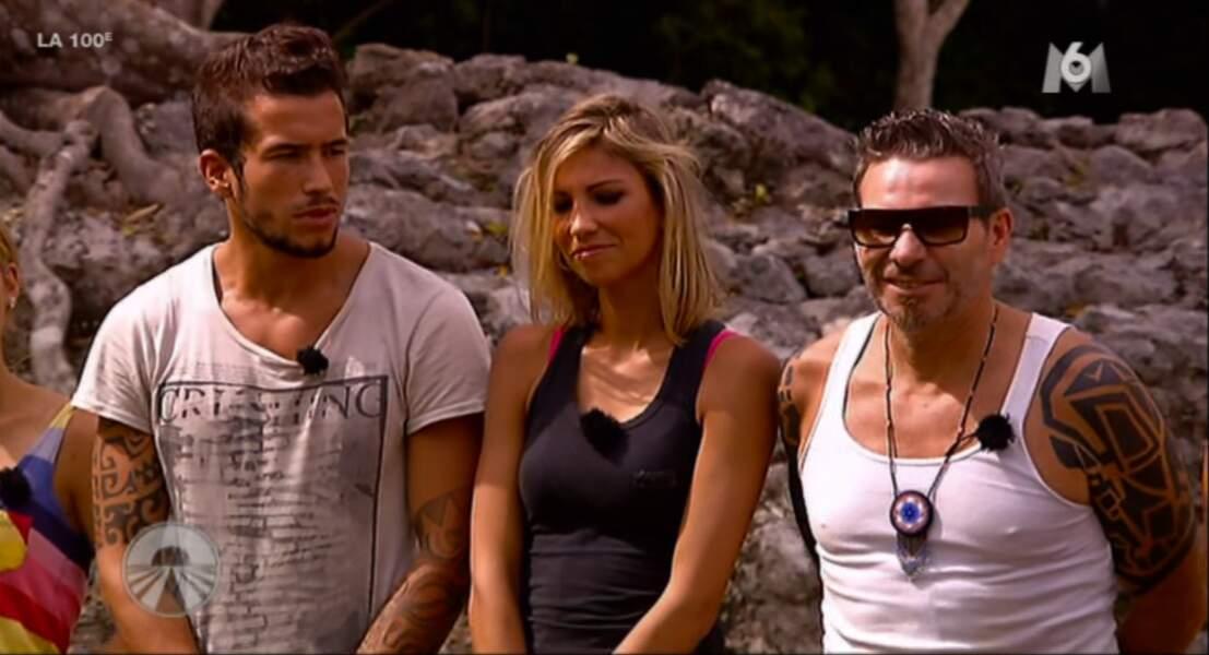 Alexandra change d'équipe... Tarik et Fabien ont l'air heureux de ce changement.