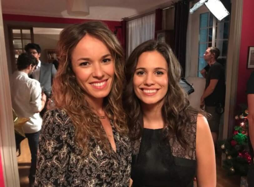 Elodie Fontan et Lucie Lucas, toujours aussi belles