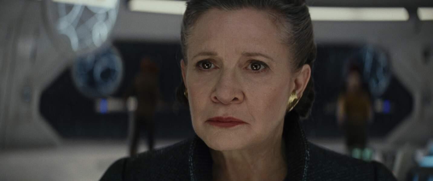 Carrie Fisher, sa dernière apparition en Leia dans Les Derniers Jedi