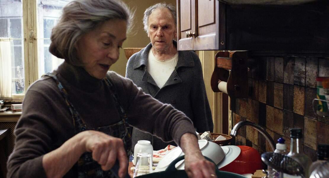 Idem pour Emmanuelle Riva qui, avec le drame Amour, de Michael Haneke, se fait voler la vedette