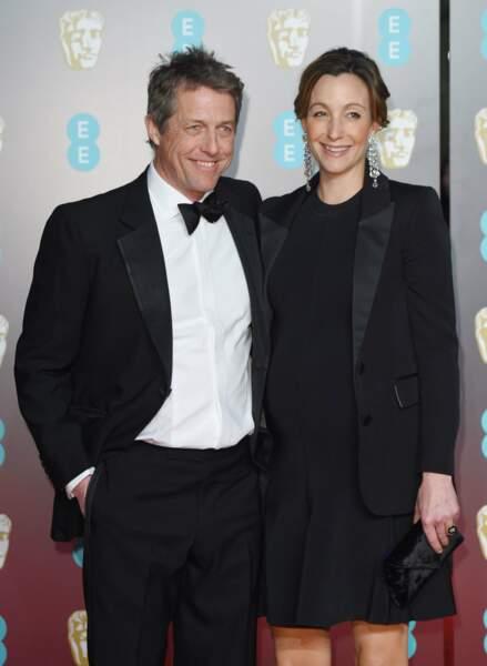 Hugh Grant et sa femme Anna Eberstein