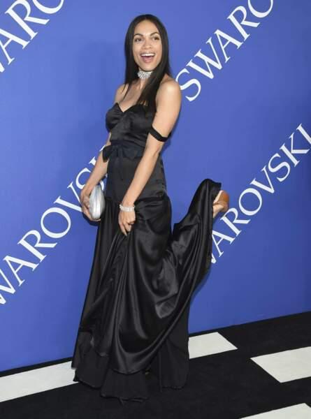 L'actrice Rosario Dawson