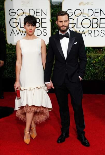 Jamie Dornan, le héros de 50 Shades of Grey, et sa compagne