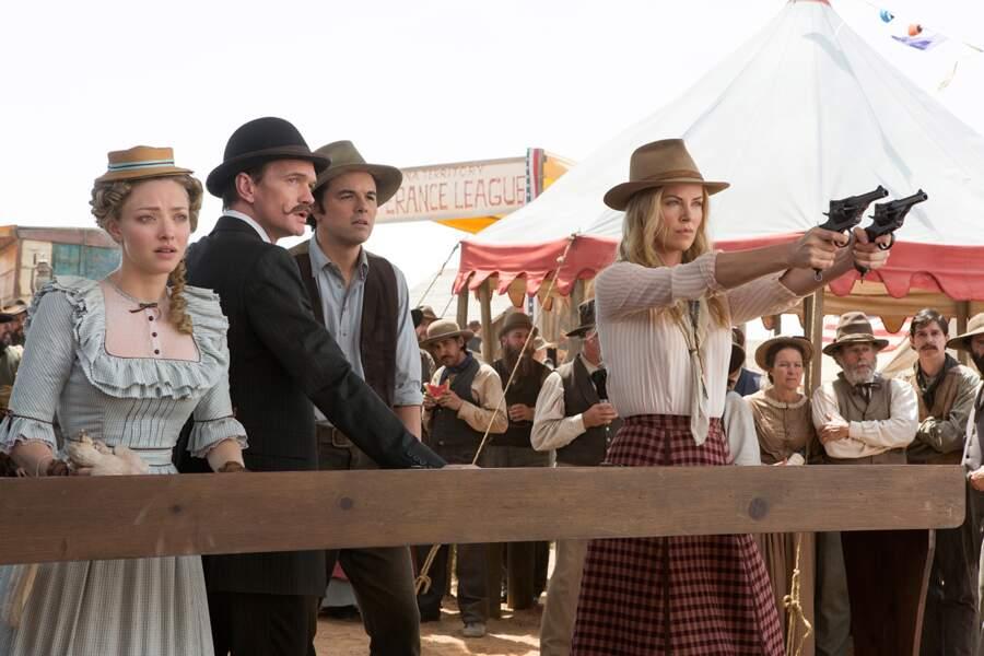 Le 2 juillet toujours, Charlize Theron sera à l'affiche d'un western totalement barré : Albert à l'Ouest