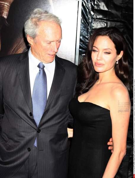 Clint Eastwood et Angelina Jolie ont tourné ensemble dans L'échange.