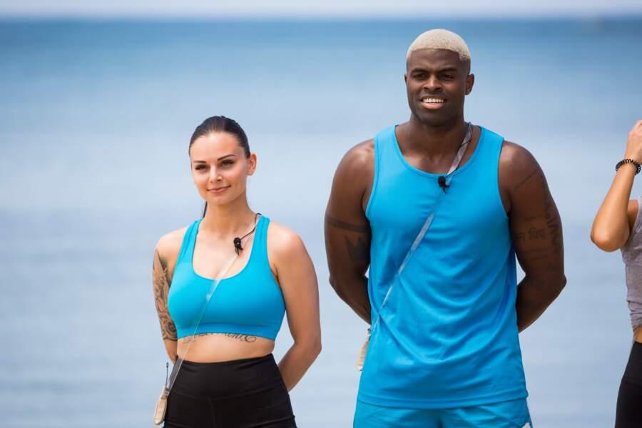 Olivia et Alexandre, les influenceurs, ont le maillot bleu