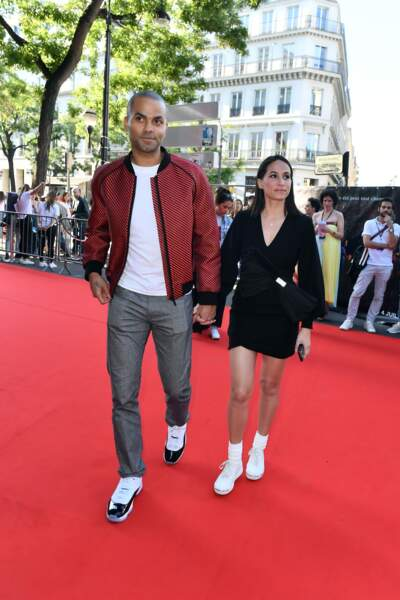 L'invité de marque était sans conteste le basketteur Tony Parker, et son épouse Axelle Francine