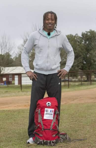 L'ancien handballeur Jackson Richardson (vu récemment dans Splash
