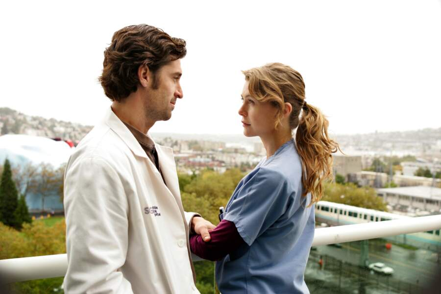 Avec Derek, elle forme le couple phare de la série