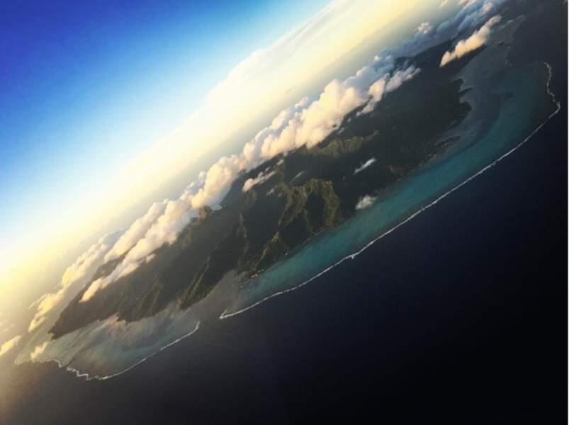 Ensuite, direction Moorea, à quelques kilomètres de Tahiti !