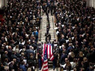 Obsèques de George W. Bush père : les moments forts