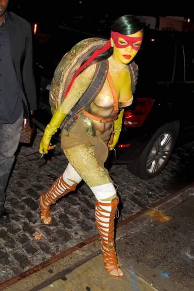 Rihanna est animale aussi, si les Tortues ninja sont des animaux.