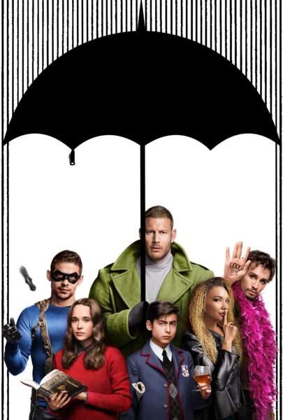 The Umbrella Academy est une production Netflix, adaptée d'un comic-book sur des superhéros