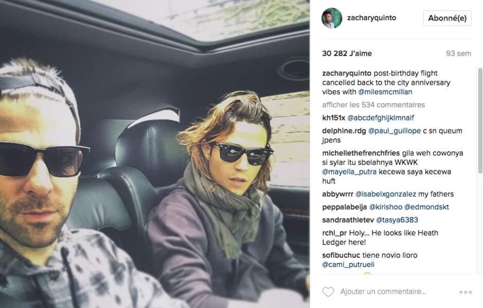 Un petit selfie dans la voiture !