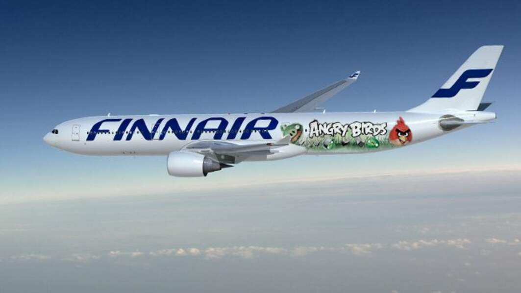 Angry Birds : l'avion !