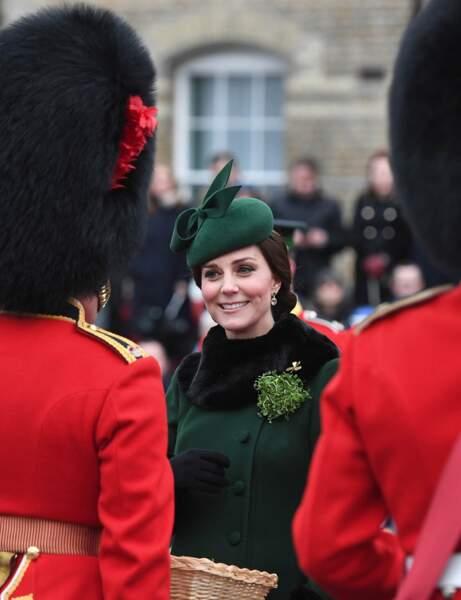 Revue des troupes en bonne et due forme pour la Saint-Patrick