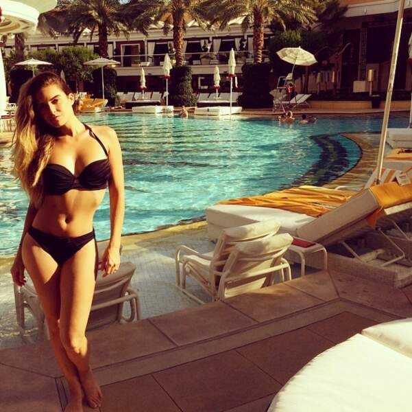 La sexy Clara vous donne un petit aperçu de ses vacances à Las Vegas !