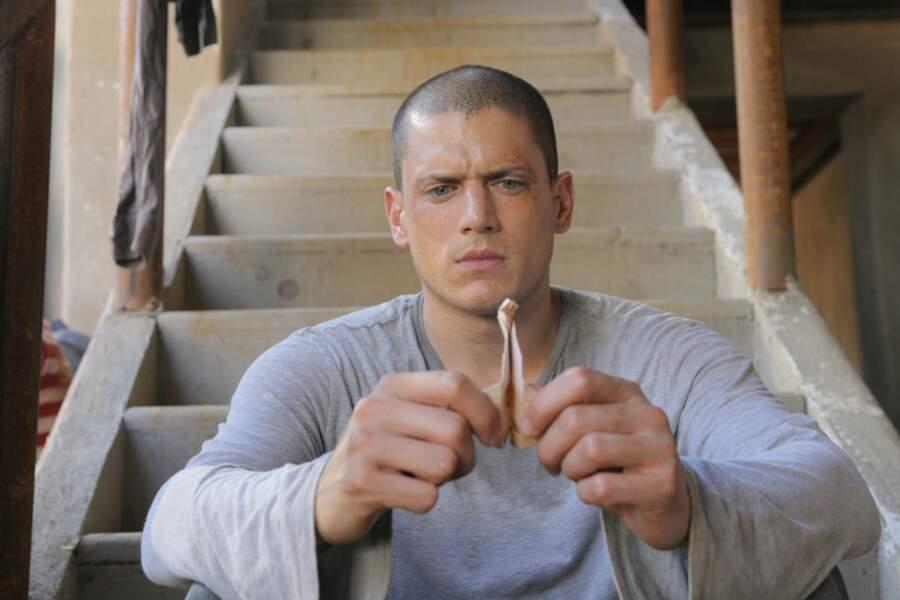 Wentworth Miller, alias Michael Scofield, le héros de Prison Break