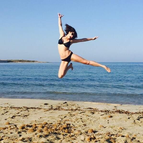 Sans oublier la petite photo à la plage. Evidemment !