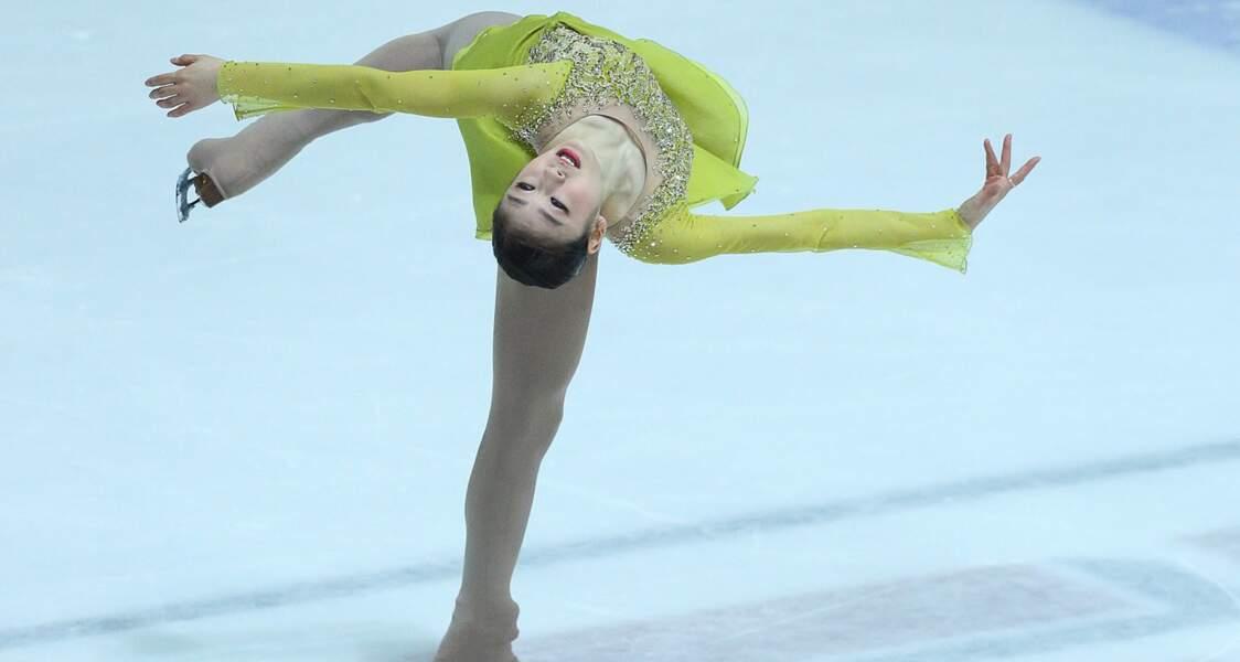 Kim Yu-na, la championne sud-coréenne, fait fondre la glace