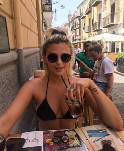 Il faisait chaud en Corse.